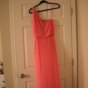 NWT One Shoulder Ball Gown
